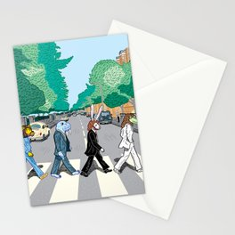 The Walrus Was Paul Stationery Cards