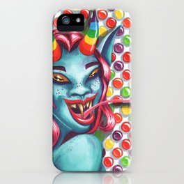 Candy Monster Girl iPhone Case
