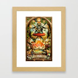 Stoned Ape Theory Framed Art Print