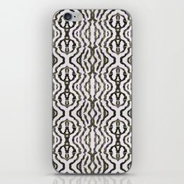 Black Coral iPhone Skin