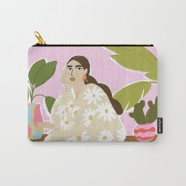 Hanging out with plants Carry-All Pouch
