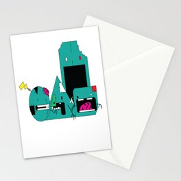 """Zombie Shapes""  Stationery Cards"