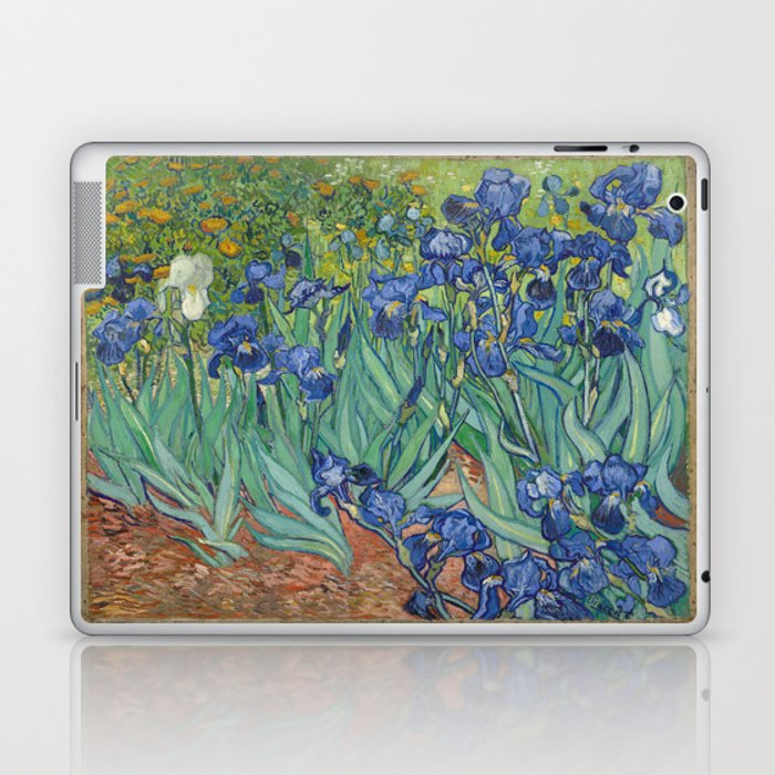 Vincent van Gogh - Irises Laptop & iPad Skin