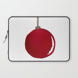 Red Ornament Laptop Sleeve
