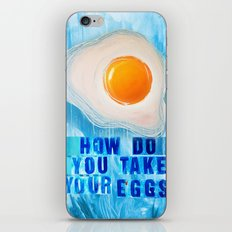 Over Easy iPhone & iPod Skin