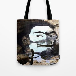 Completely and utterly random Tote Bag