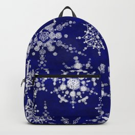 Snowflakes Floating through the Sky Backpack
