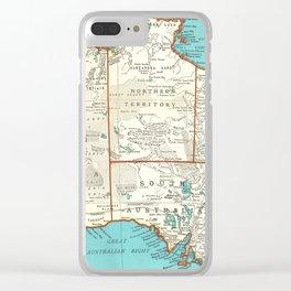 Australia; re-imagined Clear iPhone Case