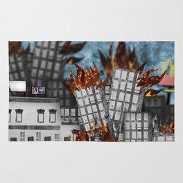 Hell Fire & McDonalds Rug