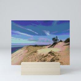 Michigan Sand and Dunes Mini Art Print
