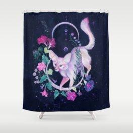 Cosmic Fox Shower Curtain