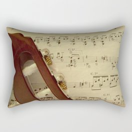 Sheet Music Rectangular Pillow