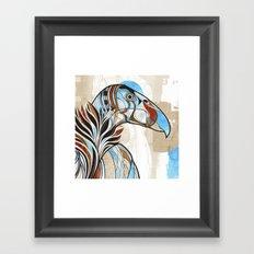 Condor colour Framed Art Print