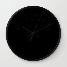 Keg Can drinking alcohol malt hop gift Wall Clock