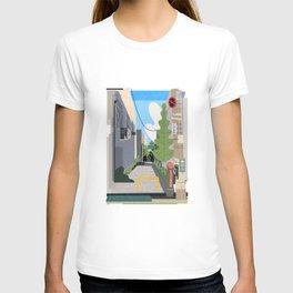 Japan Still Life 003   路地 T-shirt