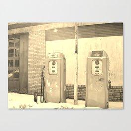 Gas Freeze Canvas Print