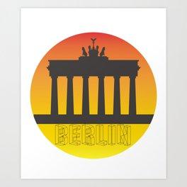 The Brandenburg Gate Art Print