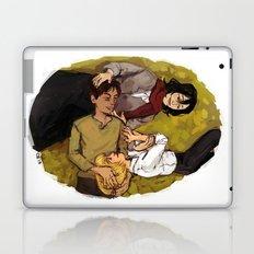 A Nap on Titan Laptop & iPad Skin