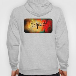 The Dragonfly Colored Hoody