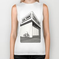 tool Biker Tanks featuring Tool Town by Vorona Photography