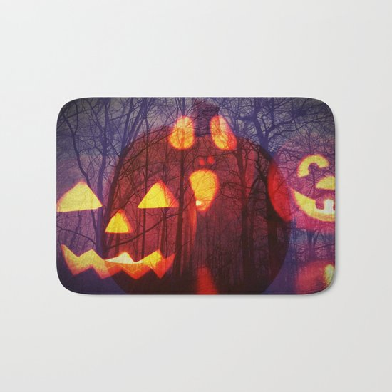 Halloween scary image Bath Mat