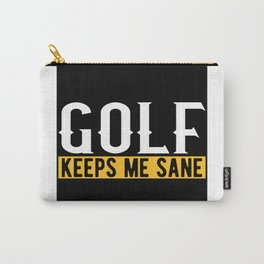 Golf Lovers Gift Idea Design Motif Carry-All Pouch