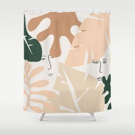 Finding it Shower Curtain