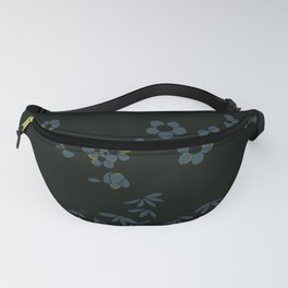 Japanese Oleanders Midnight Fanny Pack