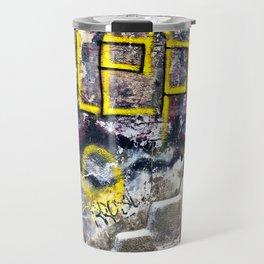 Sicilian Facade with Graffiti Travel Mug