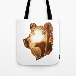 Bear Haven Tote Bag