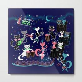 Mambo Kitties Metal Print