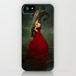 The Martyr and the Saint iPhone Case
