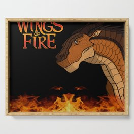 wings of fire clay Serving Tray