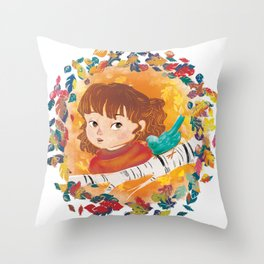 How to Whistle Throw Pillow