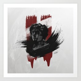 Of Blood And Stone Art Print