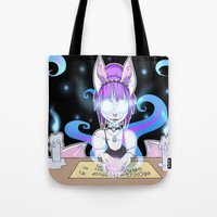 occult Tote Bags featuring Occult by JekyllDraws