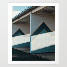 Tucson Car Wash Art Print