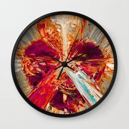 Sacred love III Wall Clock