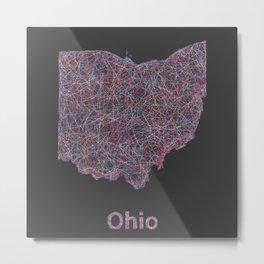 Ohio Metal Print