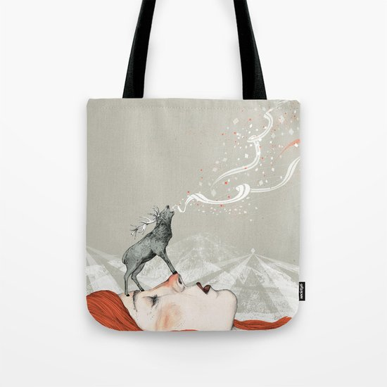 Deer Lady! Tote Bag