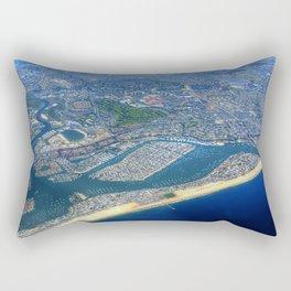 Newport Beach California Rectangular Pillow