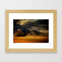 Gloomy Sky 0009 Framed Art Print