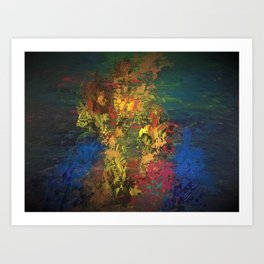 Be the water to the fire Art Print