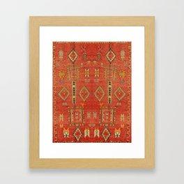 Moroccan Traditional Heritage Design Berber Style E5 Framed Art Print