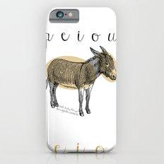 A  e  i  o  u    borriquito como tú iPhone 6s Slim Case
