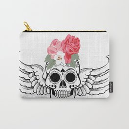 Angel Skull Carry-All Pouch
