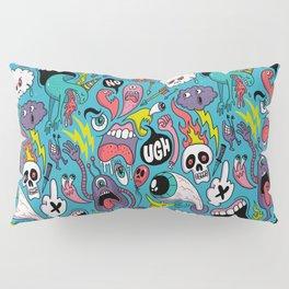 Doodled Pattern Pillow Sham