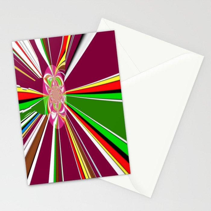 A burst of hope Stationery Cards