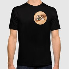 EyesScope Mens Fitted Tee Black LARGE