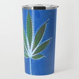 Hemp Lumen #8 Leaf Marijuana/Cannabis/Weed Travel Mug